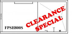 FPSH800S CLEARANCE SPECIAL